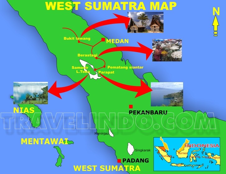 Travelindo indonesia travel agent map of medan toba lake tour package click here gumiabroncs Gallery