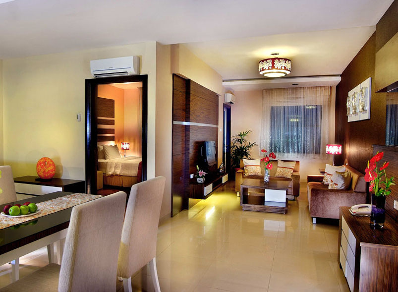Grand Aston City Hall Hotel and Serviced Residences - Medan, Two Bedroom Aparment