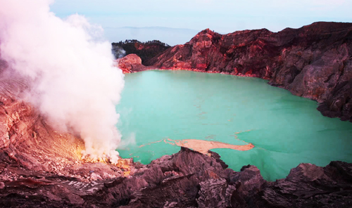 Mount Ijen Crater - East java