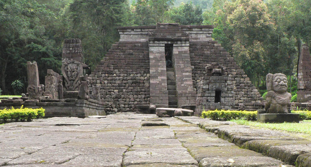 Sukuh Temple, solo-yogyakarta tour package featuring sunrise borobudur