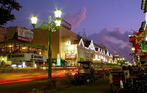 Malioboro at night